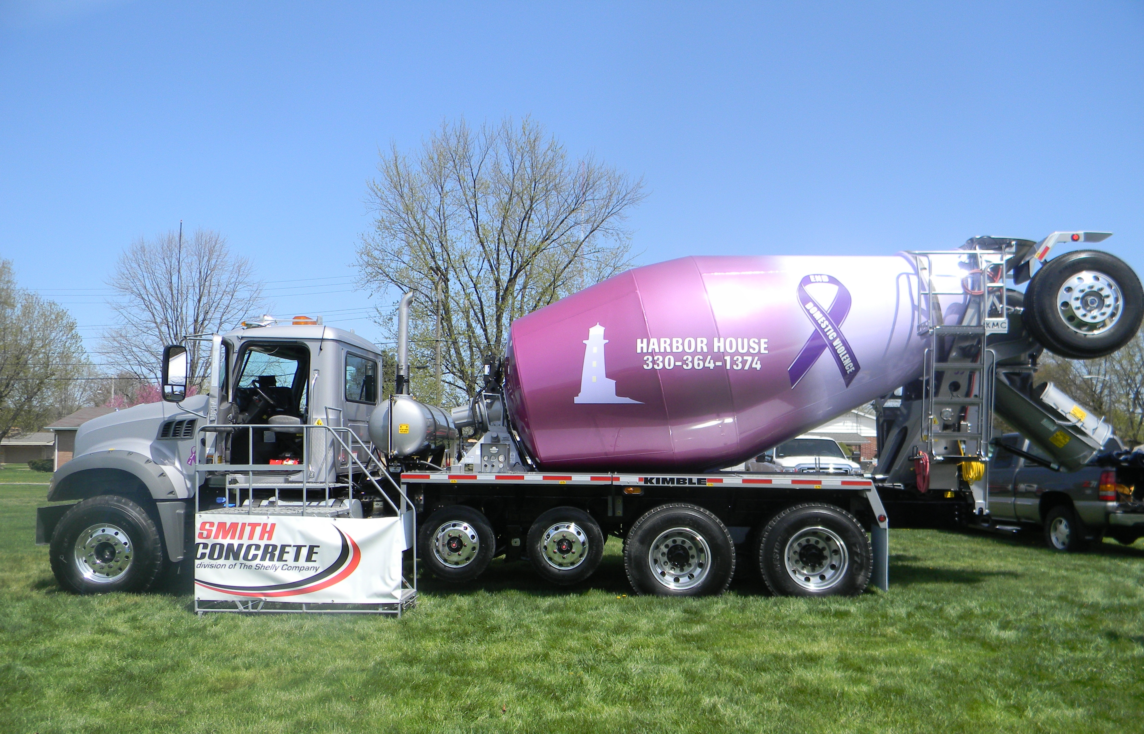 How is Ready Mixed Concrete Delivered? | Shelly Company