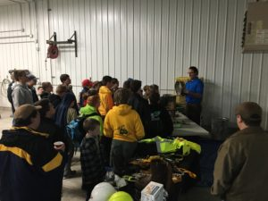 boy scouts in mining 2016 Dave Smith demo