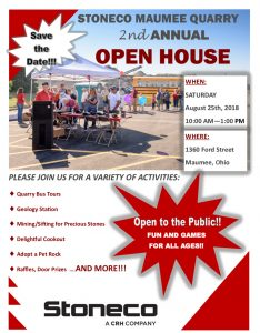 Maumee open house flyer 2018