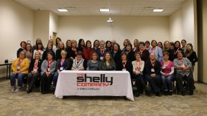 Shelly hosts first internal women's forum